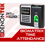 ZKTECO X628-C 3-inch Fingerprint Time & Attendance Terminal