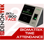 ZKTECO UFACE-800 Multi-Biometric Time Attendance Terminal