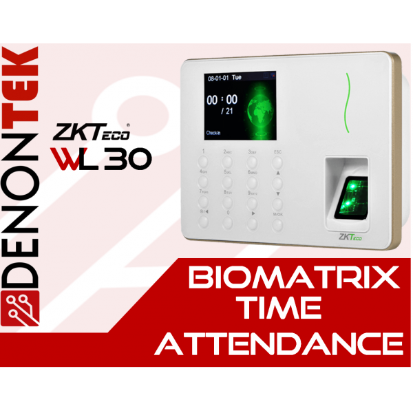 ZKTECO WL30 Wireless Time Attendance Terminal