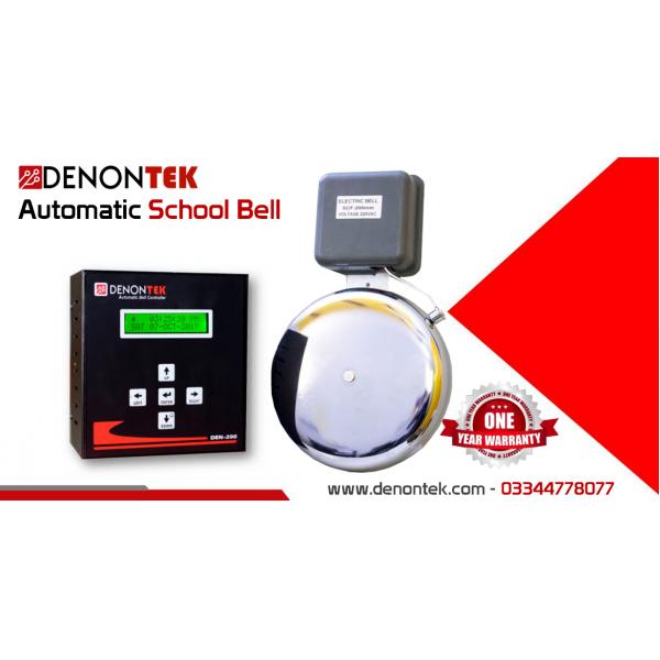 DENONTEK Automatic School Bell System- Pakistan's largest