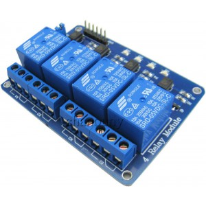 4 Channel 10A 5v Relay Module