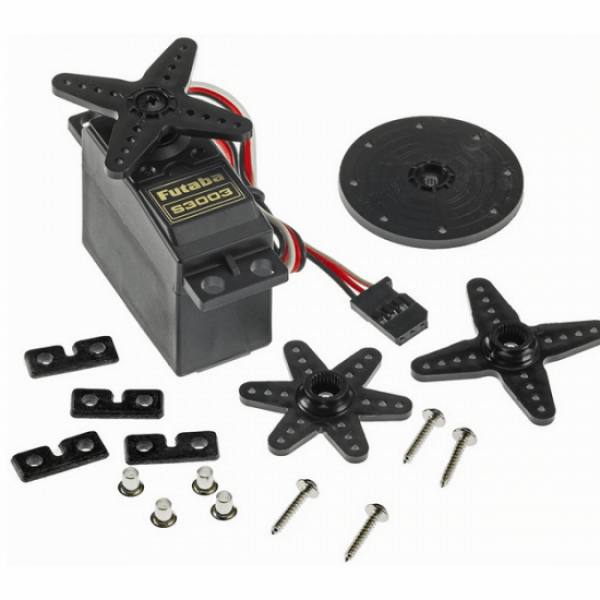 Futaba S3003 Standard Servo Motor for RC Vehicles