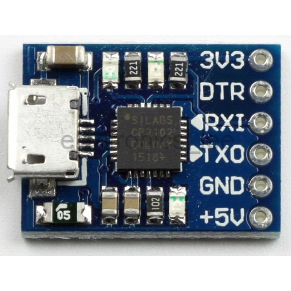 CP2102 USB to Serial TTL Converter