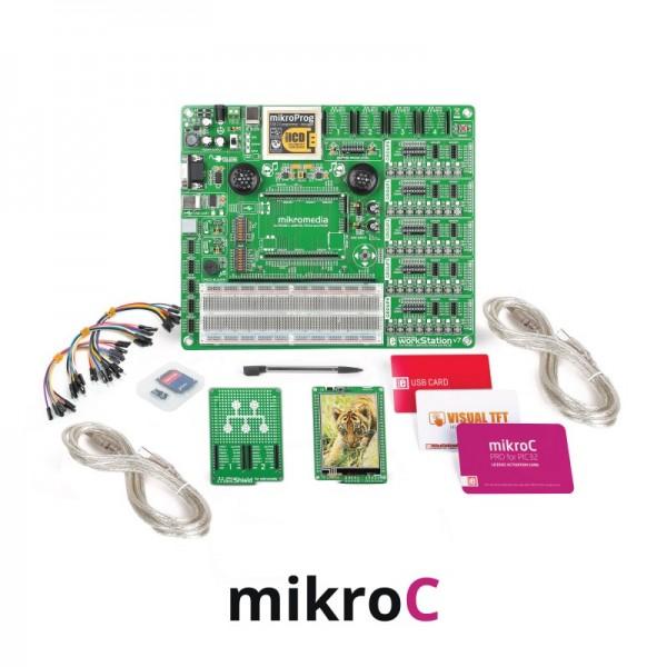 MikroLAB for Mikromedia - PIC32