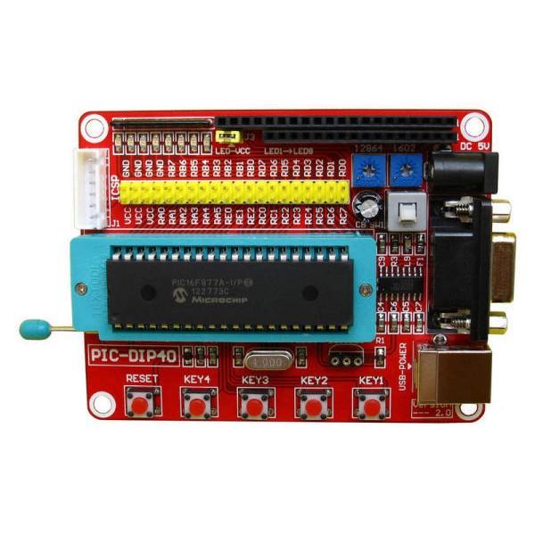 PIC Development Board for PIC16F877 PIC16F877A