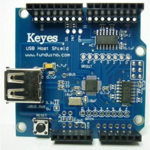 Arduino USB Host Shield V 2.0 (ADK for Arduino)