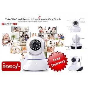 WiFi IP Camera with Night Vision (FREE DELIVERY)
